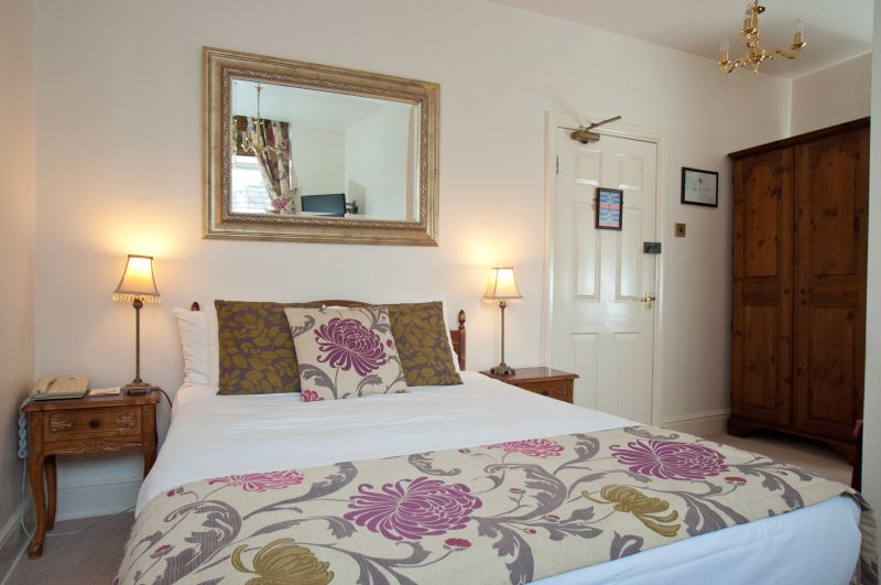 Bedroom at the Old Hall Hotel