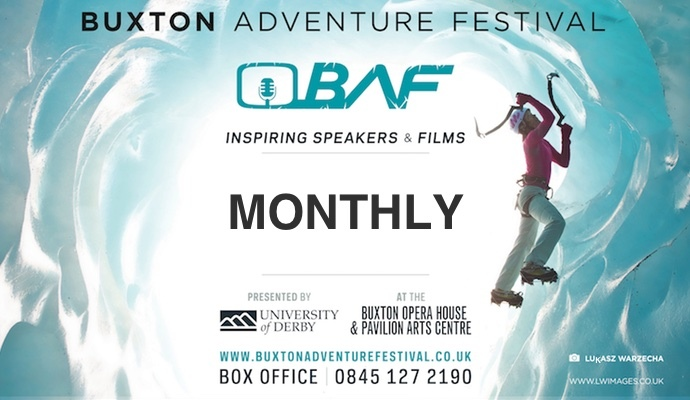 Buxton Adventure Festival February 2018