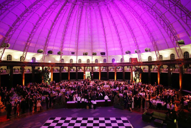 Wedding reception under the Devonshire Dome