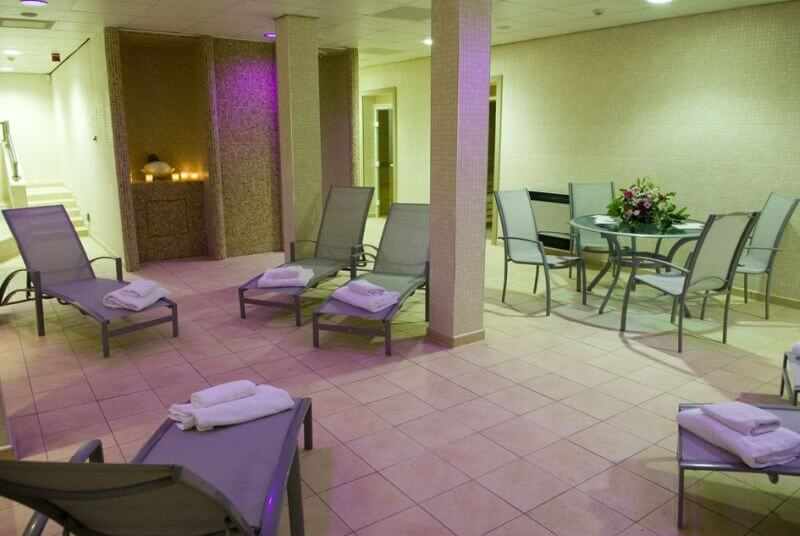 Loungers at the Devonshire Spa