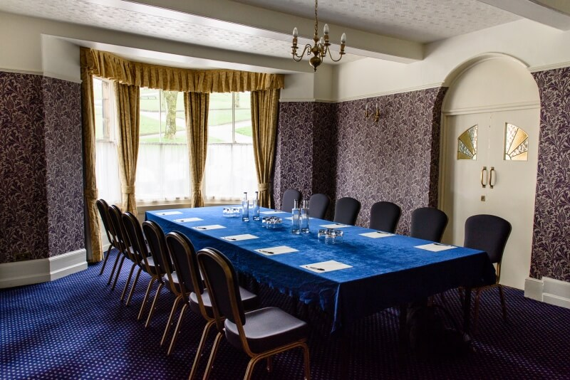 Cavendish Room at the Old Hall Hotel.