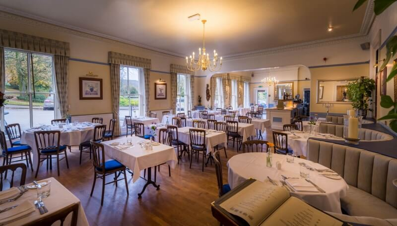 Old Hall Hotel restaurant