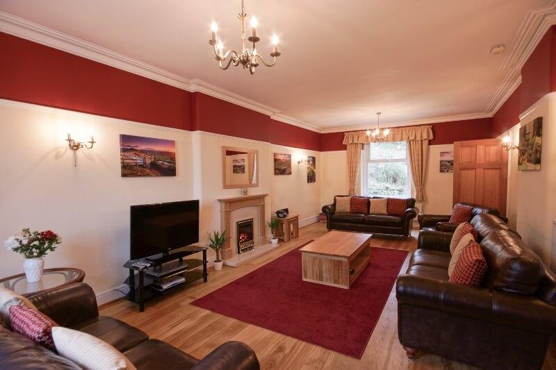 Lounge at Wellwood Lodge