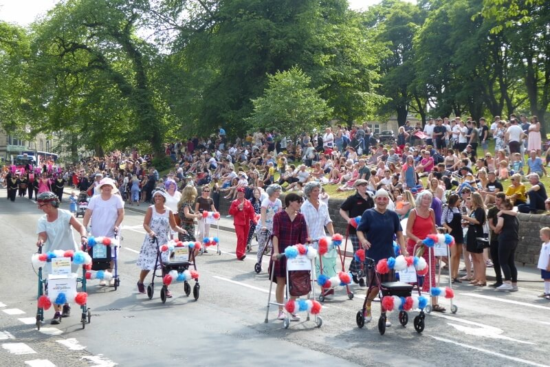 Carnival Day in Buxton