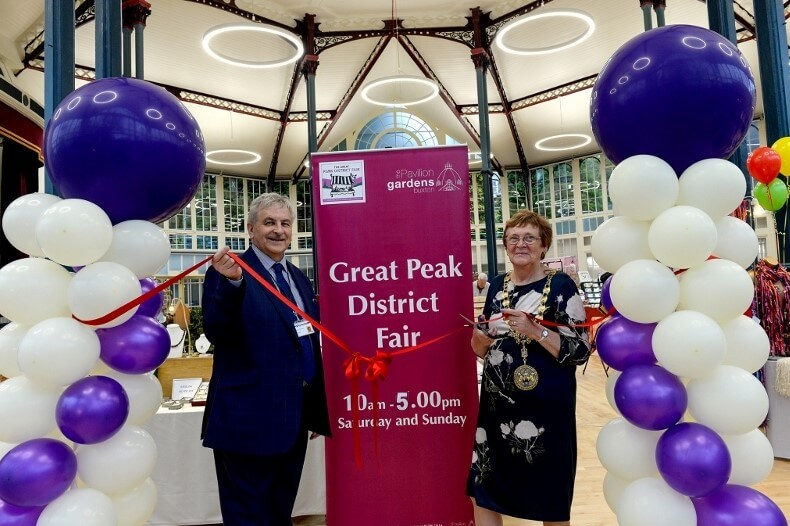 Official opening of the Octagon Concert Hall at the Great Peak District Fair 2018