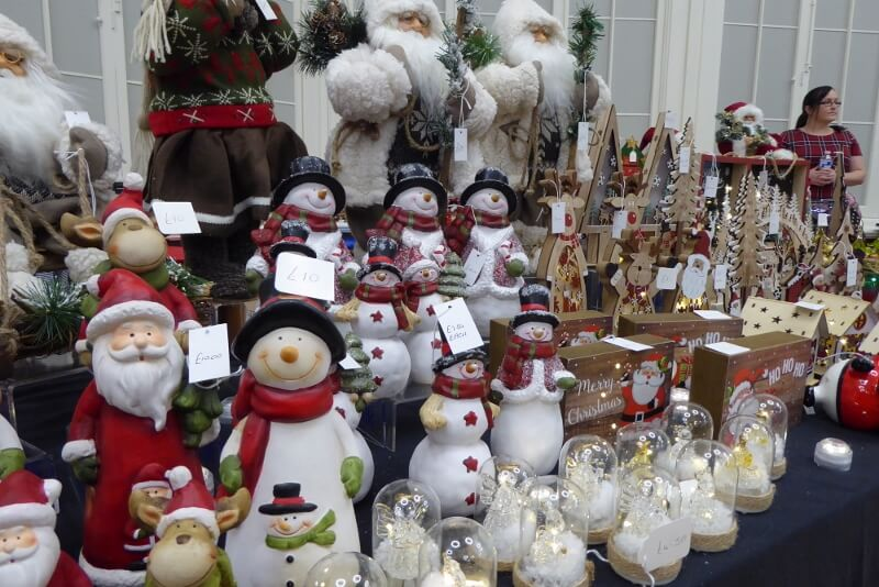 Christmas stall at the Grand Bazaar in the Octagon Hall. Image courtesy of Ali Quas-Cohen.