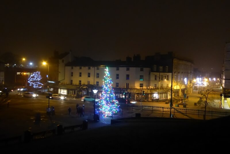 Town Christmas Tree. Image courtesy of Ali Quas-Cohen.